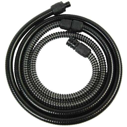 10 Foot Heavy Duty Turbine HVLP Air Hose with Quick-Connect Coupler on One End & Quick Coupler Plug on the Other End