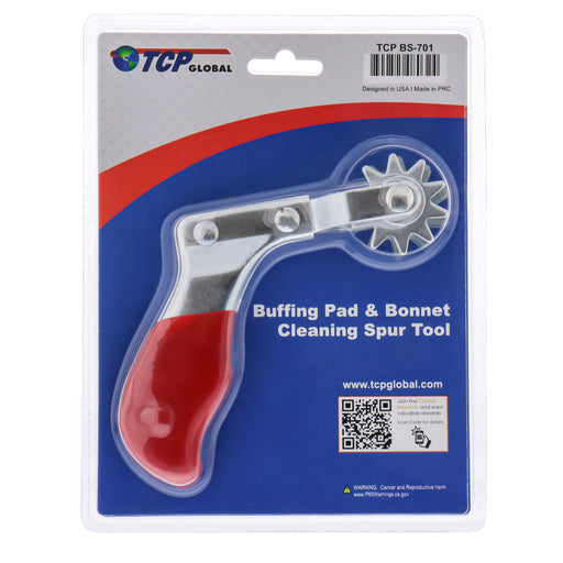 Buffing Pad Cleaning Spur for Polishing Bonnets & Compund Pads