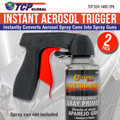 TCP Global - Aerosol Spray Can Trigger Handle - Pack of 2