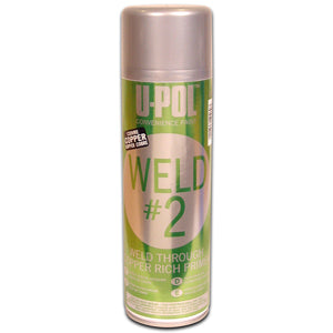 Weld#2 Weld Through Rich Primer, Copper, 450ml Aerosol