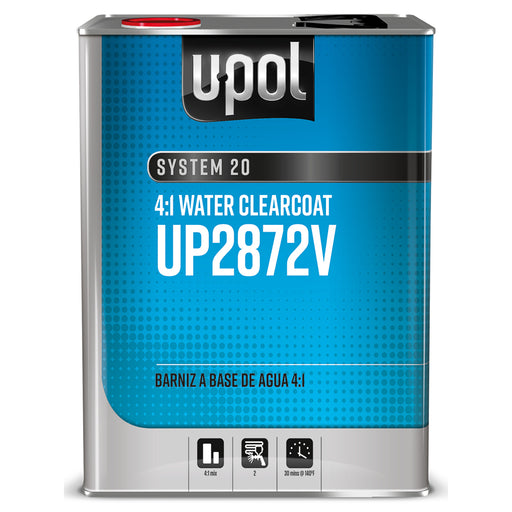 2.1 VOC Compliant Water Clearcoat 4:1, S2087V, 1 Gallon