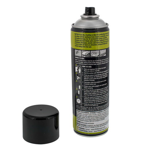 Raptor Black Truck Bed Coating 14.3 Ounce Aerosol Can (Pack of 3)