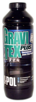 Gravitex Plus HS Stone Chip Protector, Gray, 1 Liter Bottle
