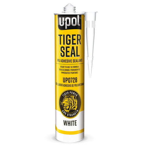 Tiger Seal PU Adhesive & Sealant, White, 310ml Cartridge