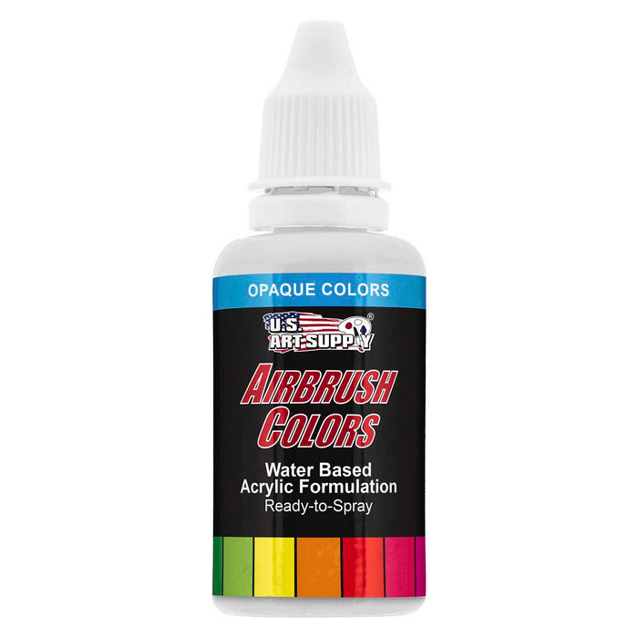 White, Opaque Acrylic Airbrush Paint, 1 oz.