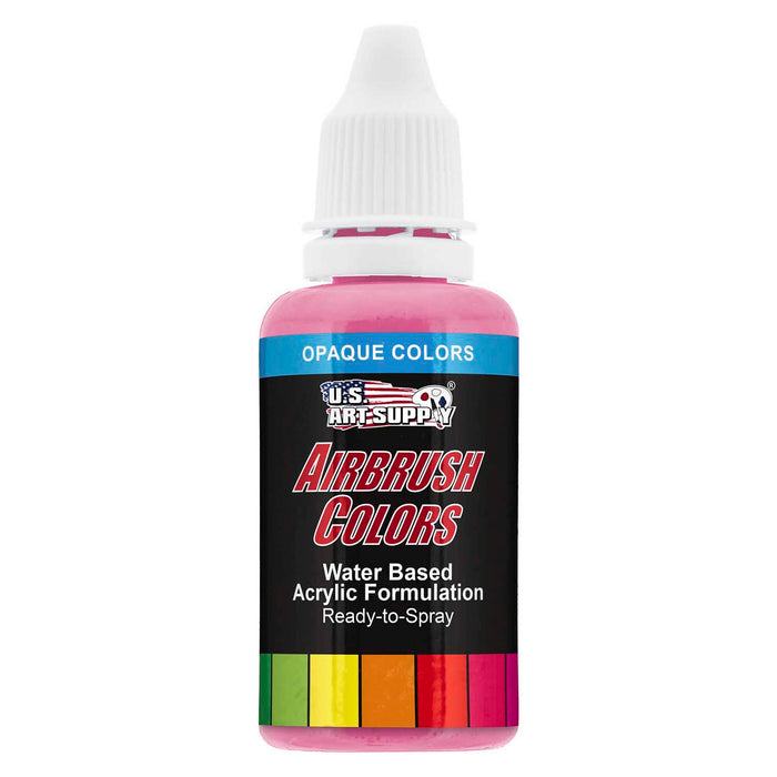 Pure Pink, Opaque Acrylic Airbrush Paint, 1 oz.