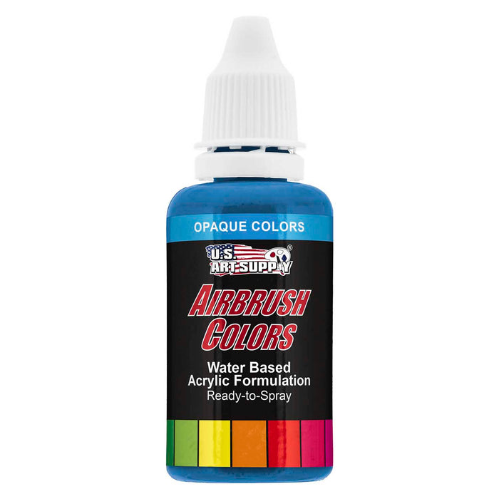 Lake Blue, Opaque Acrylic Airbrush Paint, 1 oz.