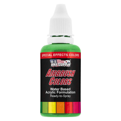 Green Pearl, Pearlized Special Effects Acrylic Airbrush Paint, 1 oz.