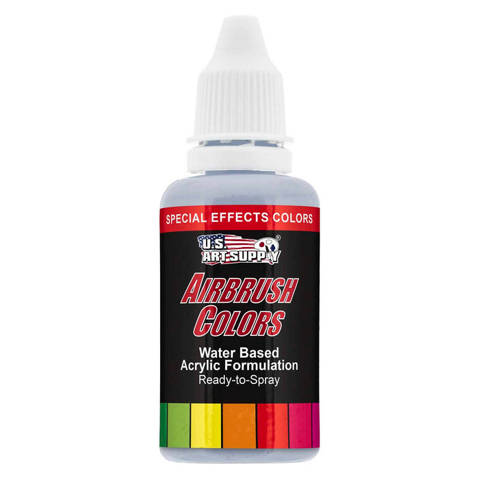 Silver Pearl, Pearlized Special Effects Acrylic Airbrush Paint, 1 oz.