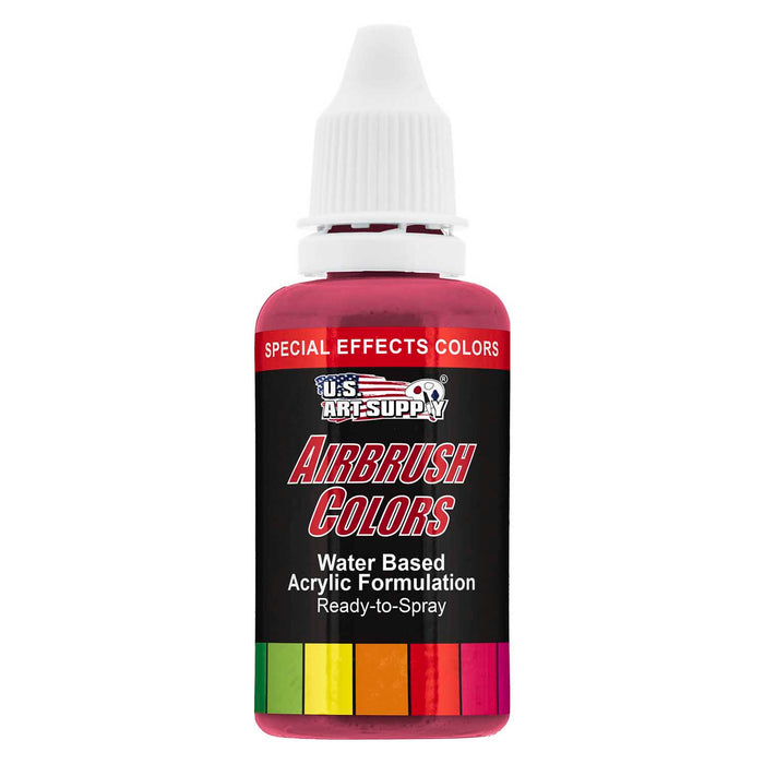 Red Pearl, Pearlized Special Effects Acrylic Airbrush Paint, 1 oz.