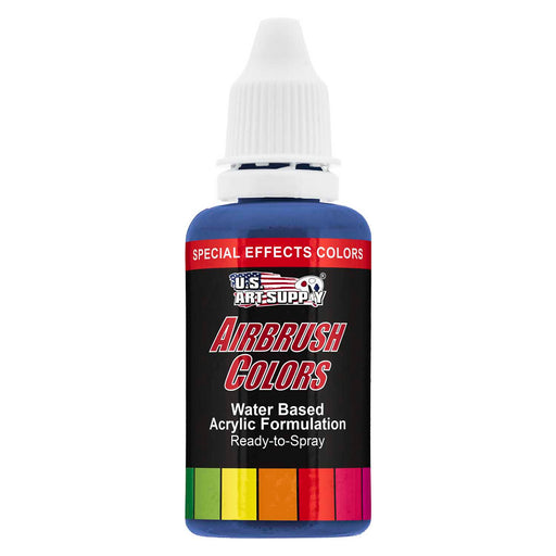 Blue Pearl, Pearlized Special Effects Acrylic Airbrush Paint, 1 oz.