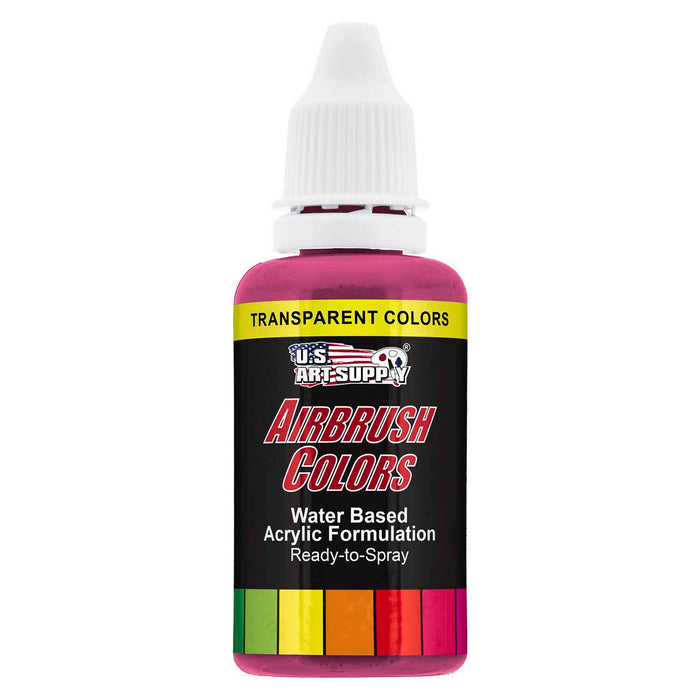 Magenta, Transparent Acrylic Airbrush Paint, 1 oz.