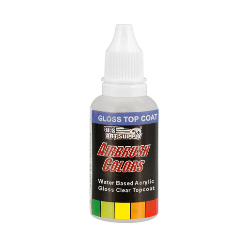 Clear Gloss Topcoat, Acrylic Airbrush Paint, 1 oz.