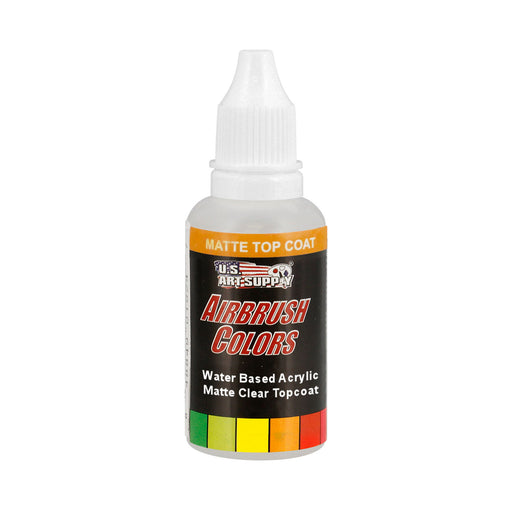 Clear Matte Topcoat, Acrylic Airbrush Paint, 1 oz.