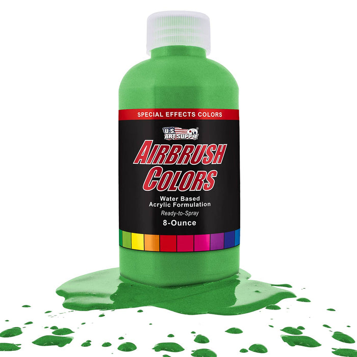 Green Pearl, Pearlized Special Effects Acrylic Airbrush Paint, 8 oz.