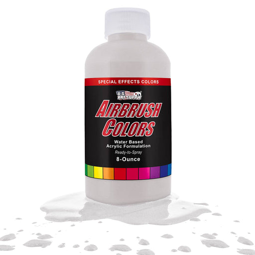 White Pearl, Pearlized Special Effects Acrylic Airbrush Paint, 8 oz.