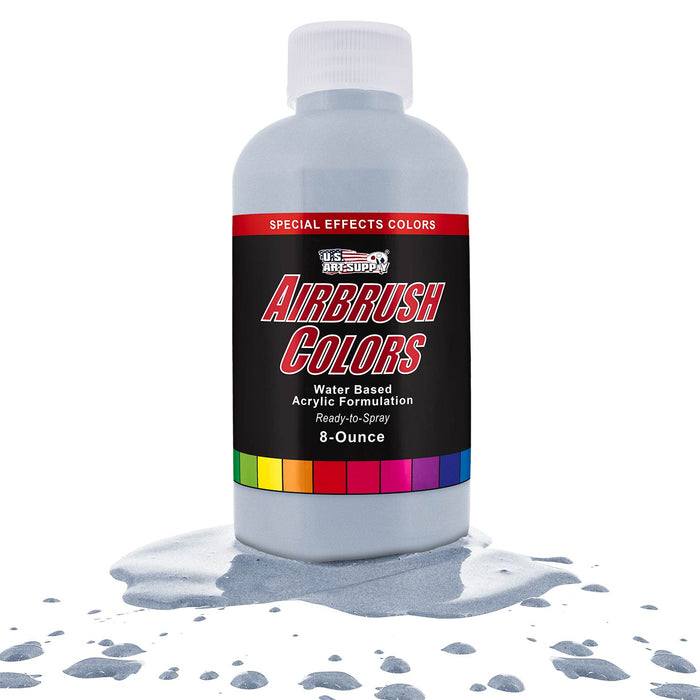Silver Pearl, Pearlized Special Effects Acrylic Airbrush Paint, 8 oz.