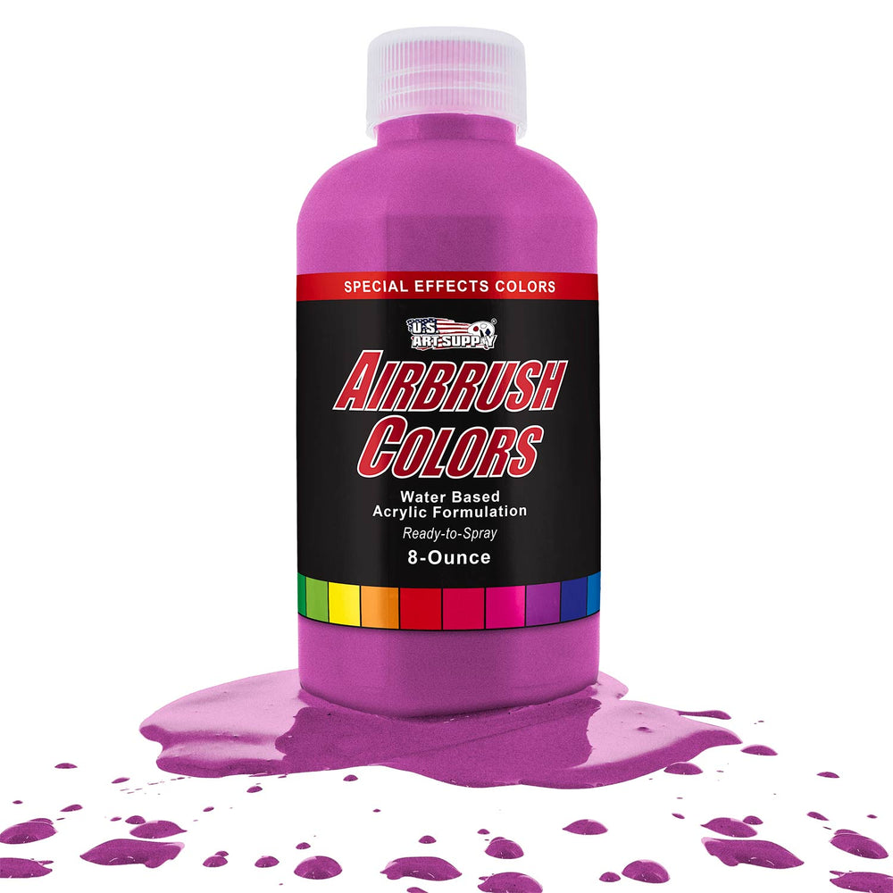 Magenta Pearl, Pearlized Special Effects Acrylic Airbrush Paint, 8 oz.