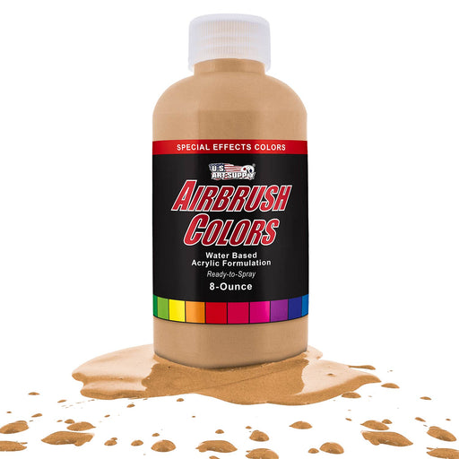Gold Pearl, Pearlized Special Effects Acrylic Airbrush Paint, 8 oz.