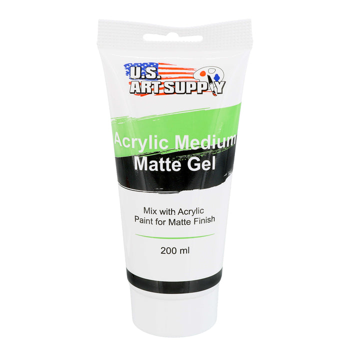 Gel Medium Matte Acrylic Medium, 200ml Tube