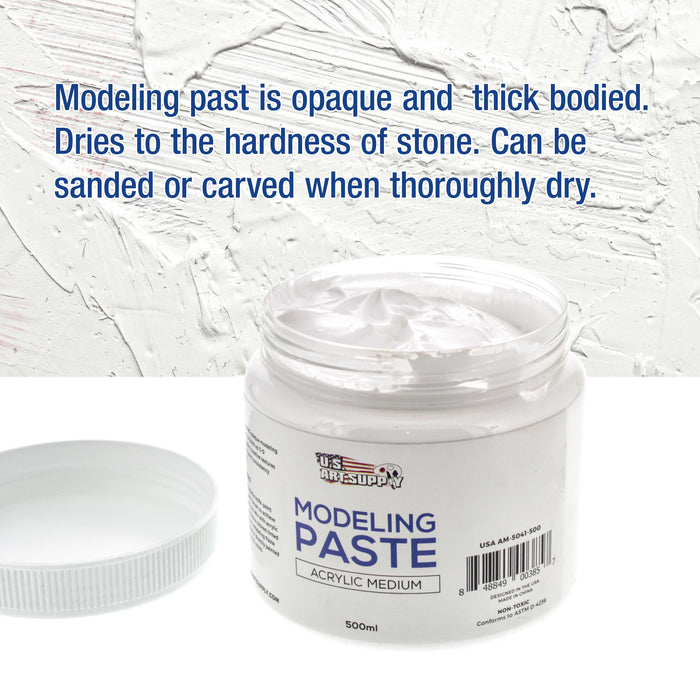 Modeling Paste Acrylic Medium, 500ml Tub