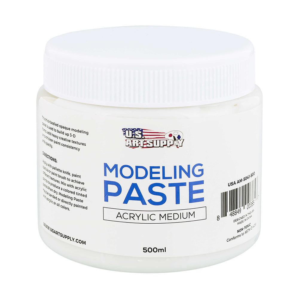 Modeling Paste Acrylic Medium, 500ml Tube