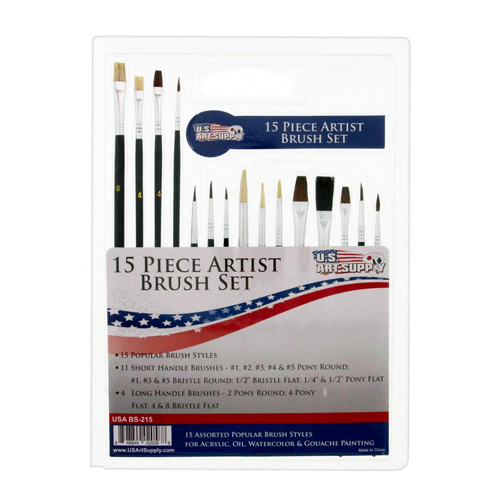 15 Piece Multipurpose Brush Set