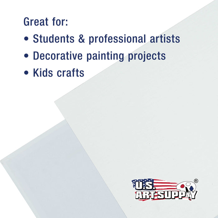 by US Art Supply US Art Supply 5 X 7 inch Professional Artist Quality Acid Free Canvas Panels 8-12-Packs 1 Full Case of 96 Single Canvas Panels