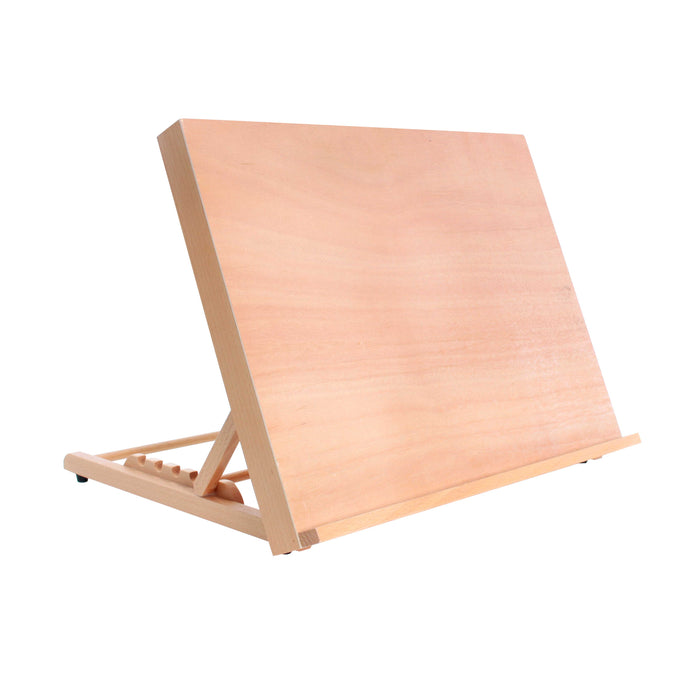 "Large 18-1/2"" Wide x 14-1/8"" (A3) Tall Artist Adjustable Wood Drawing Sketching Board"