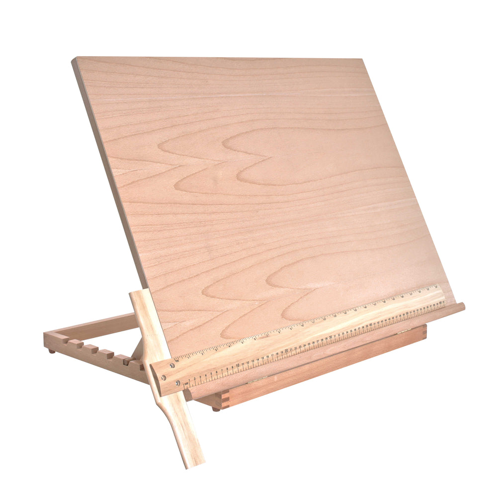 "Extra Large Adjustable Wood Artist Drawing & Sketching Board 26"" Wide x 21"" Tall"