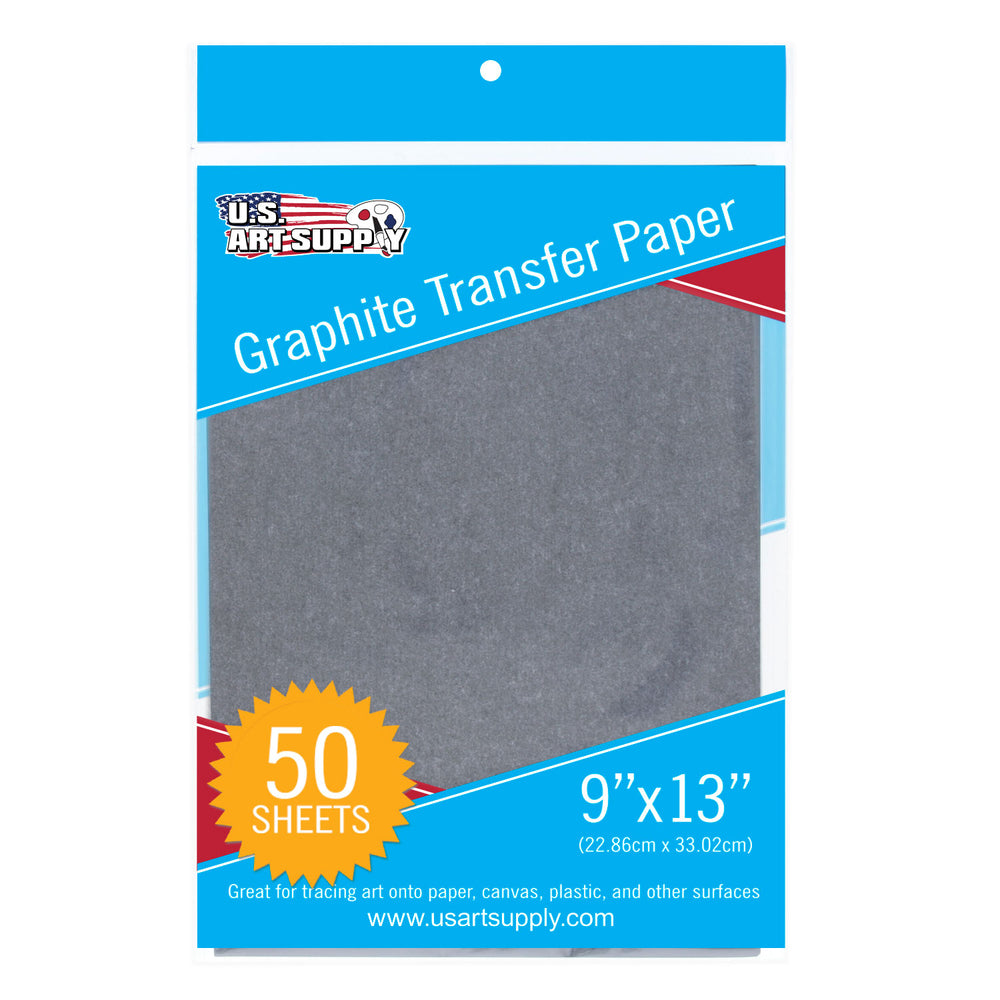 "9"" X 13"" Graphite Transfer Paper - 50 Sheets"