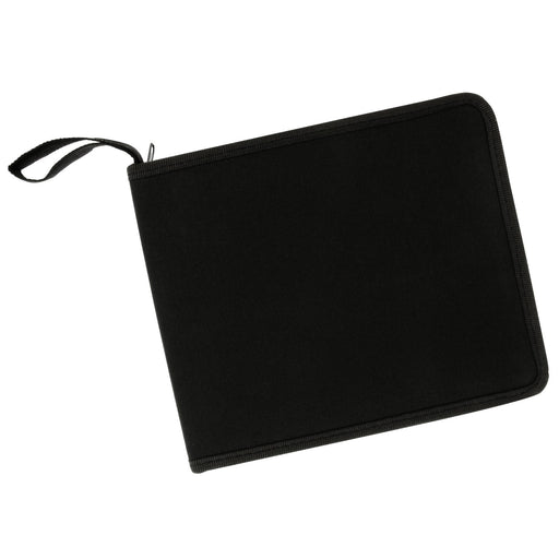 "48 Slot Zippered Nylon Pencil Carry Case - Size: 11.4"" x 7.6"" x1.4"""