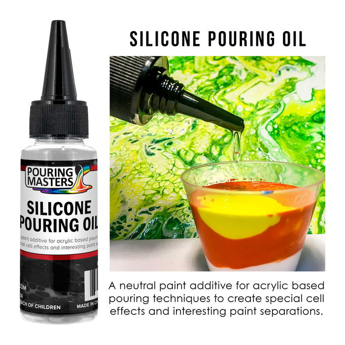 2-Ounce - 100% Silicone for Dramatic Cell Creation in Acrylic Paint
