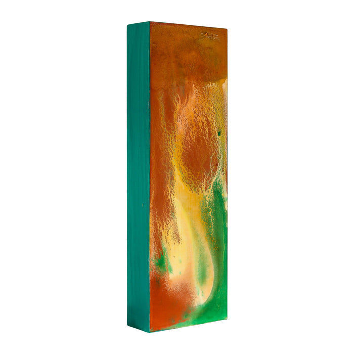 "12"" x 24"" Birch Wood Paint Pouring Panel Boards, Gallery 1-1/2"" Deep Cradle (Pack of 2) - Artist Depth Wooden Wall Canvases - Painting Mixed-Media Craft, Acrylic, Oil, Encaustic"