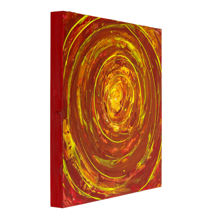 "20"" x 20"" Birch Wood Paint Pouring Panel Boards, Gallery 1-1/2"" Deep Cradle (Pack of 2) - Artist Depth Wooden Wall Canvases - Painting Mixed-Media Craft, Acrylic, Oil, Encaustic"