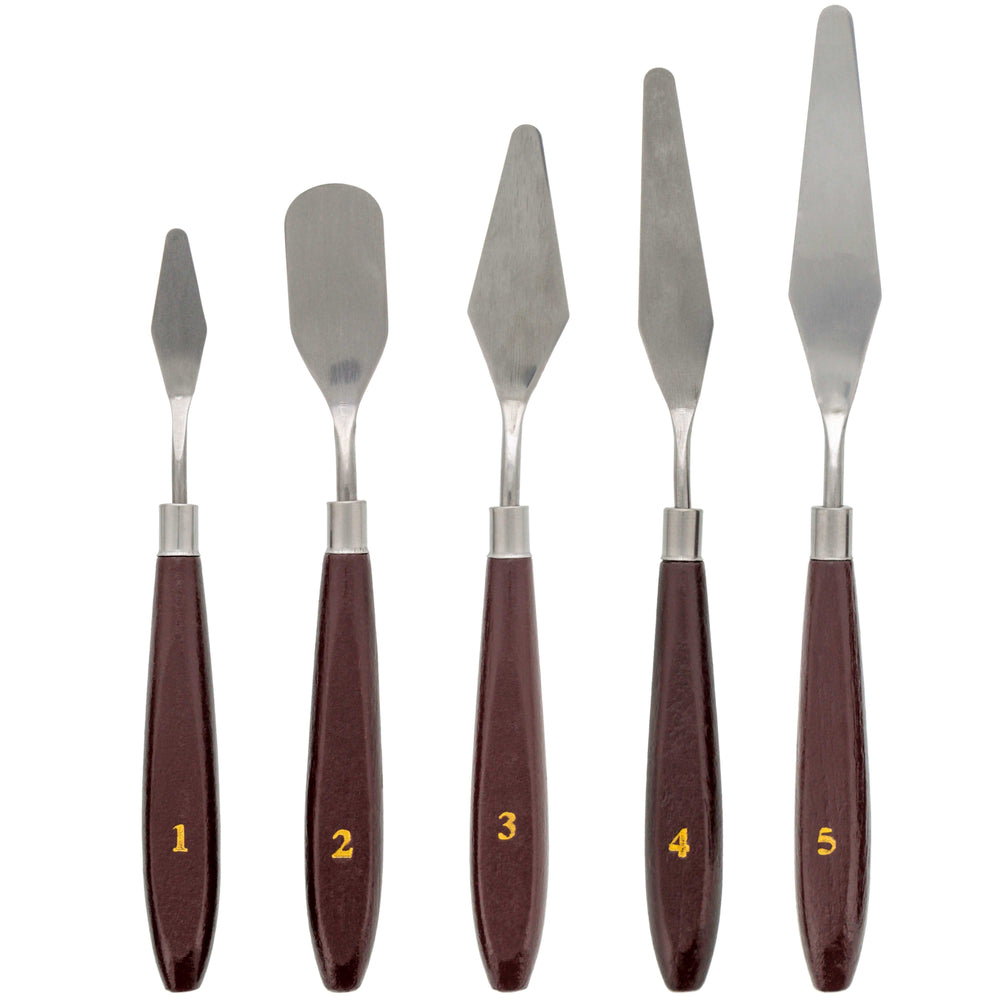 5 Piece Palette Knife Set