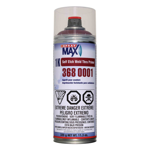 SprayMax 1K Self Etch Weld-Thru Primer (Red Brown)