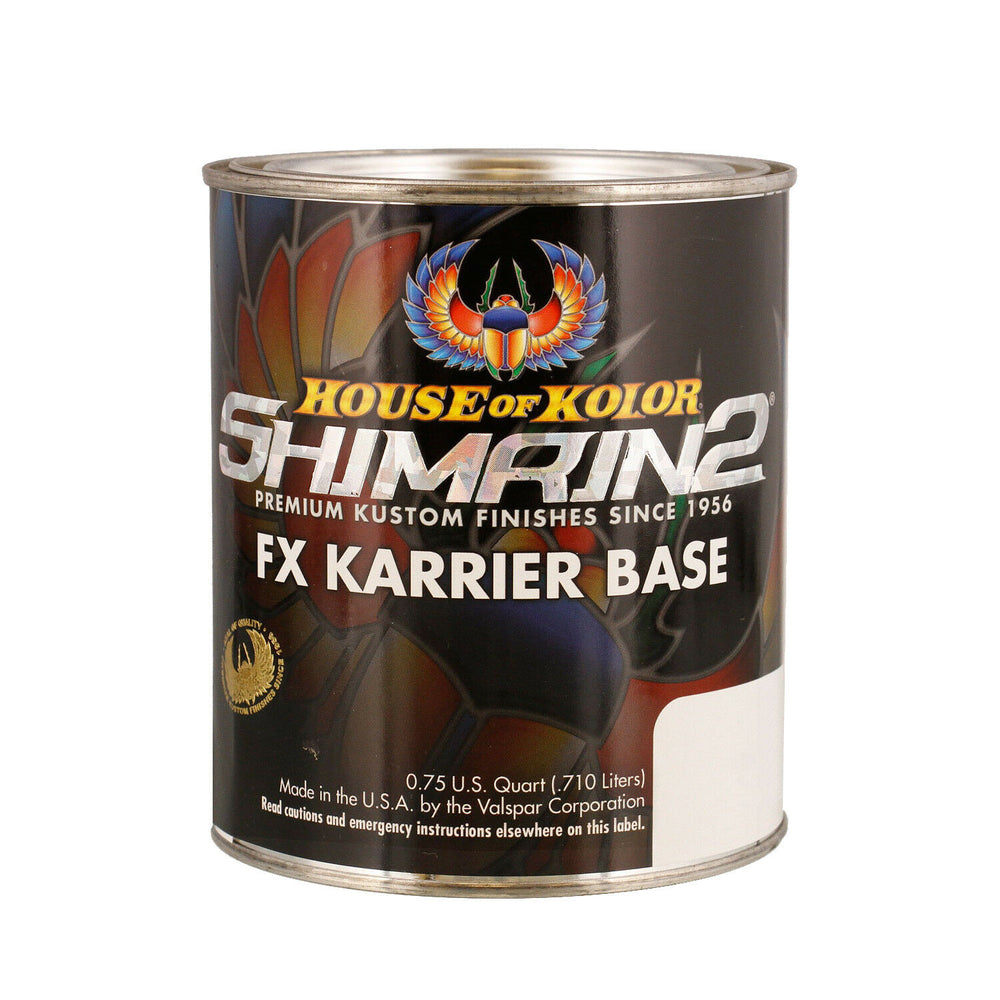 Azure Blue - Shimrin2 (2nd Gen) Fx Karrier Basecoat, 1 Quart House of Kolor