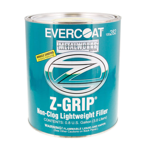 Z-Grip - Non-Clog Lightweight Body Filler for Metals, 1 Gallon