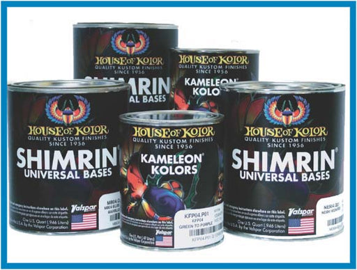 Oriental Blue Kandy - Shimrin2 (2nd Gen) Kandy Basecoat, 1 Quart House of Kolor
