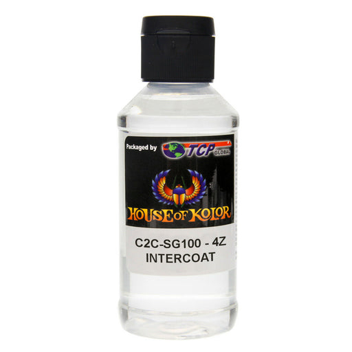 Intercoat Klear Midcoat Clearcoat Low VOC, 4-Ounce Bottle