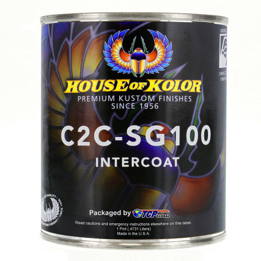 Intercoat Klear Midcoat Clearcoat Low VOC, 1 Pint