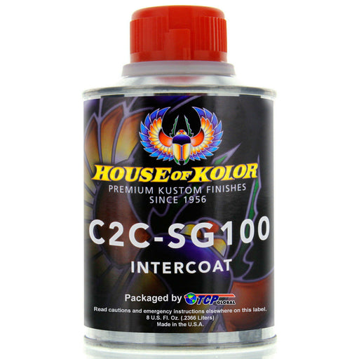 Intercoat Klear Midcoat Clearcoat Low VOC, 1-Half Pint