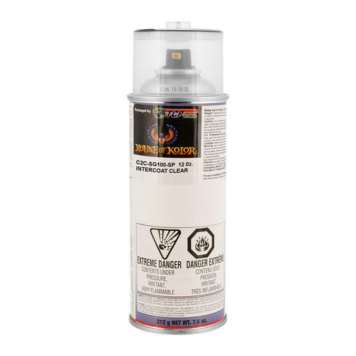 Intercoat Klear Midcoat Clearcoat Low VOC, 1-Spray Can