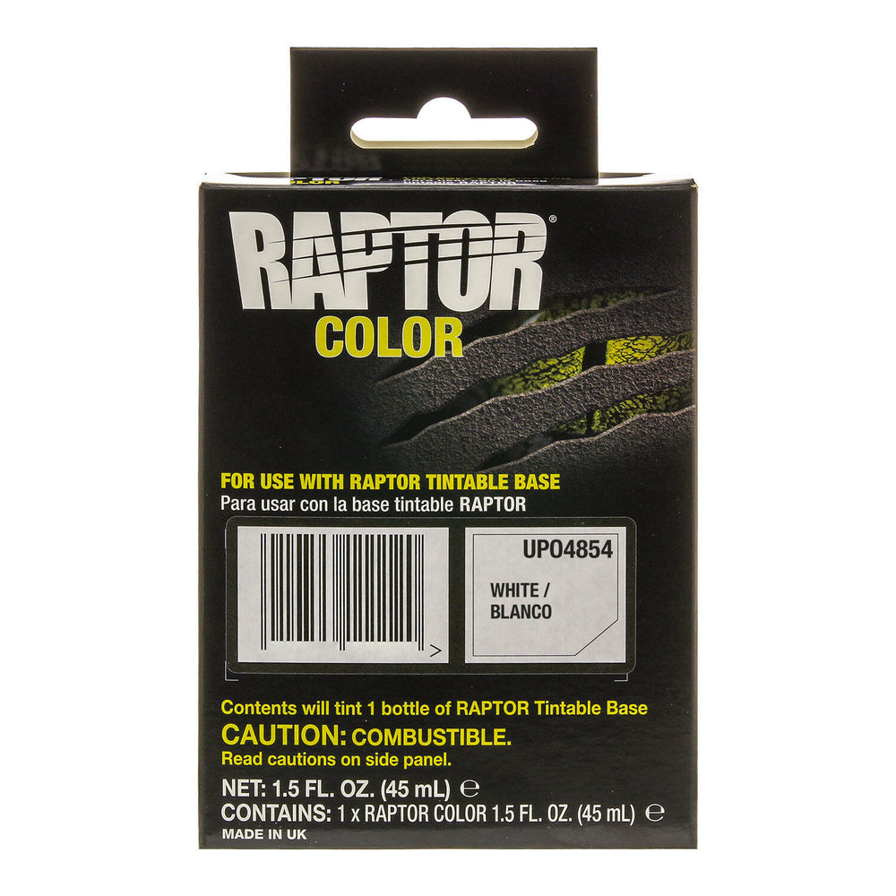 Raptor Color Tint Pouches - White