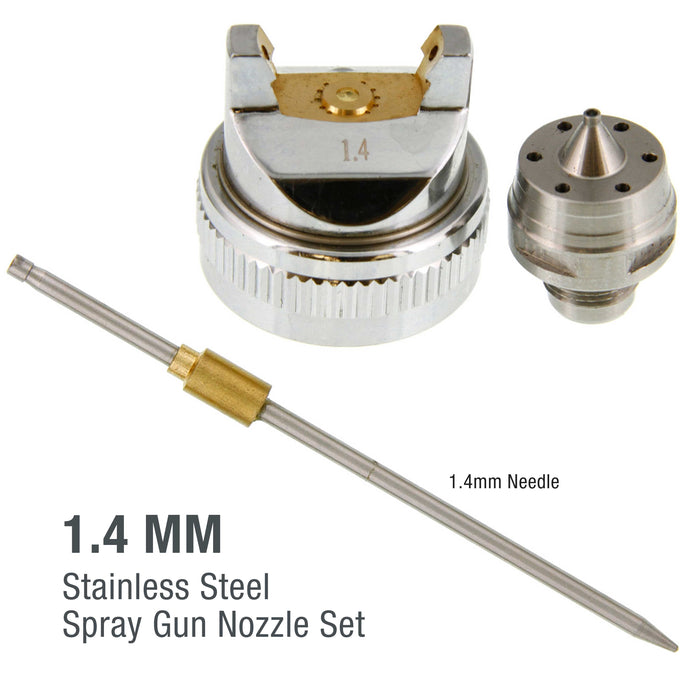 1.4 Needle, Nozzle, Air Cap Set for The G6600 Series Spray Gun