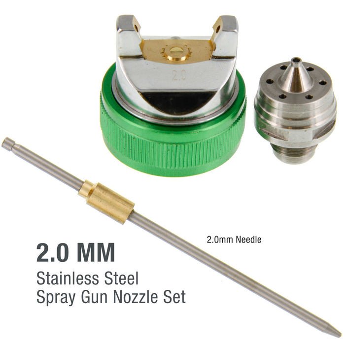 2.0 Needle, Nozzle, Air Cap Set for The G6600 Series Spray Gun