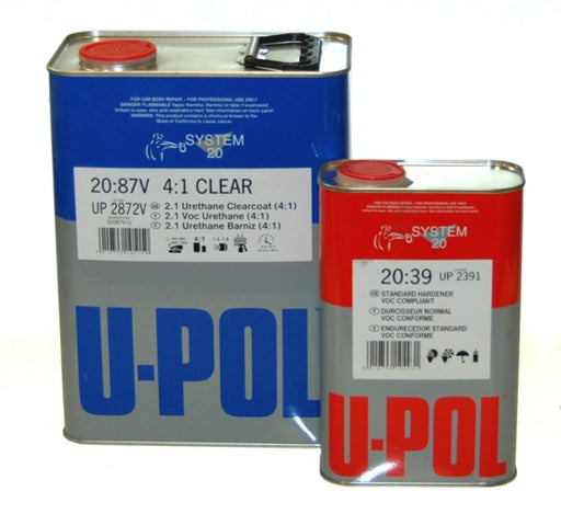 2.1 VOC Compliant Water Clearcoat Kit, Standard Dry 4:1, S2087V, 1 Gallon
