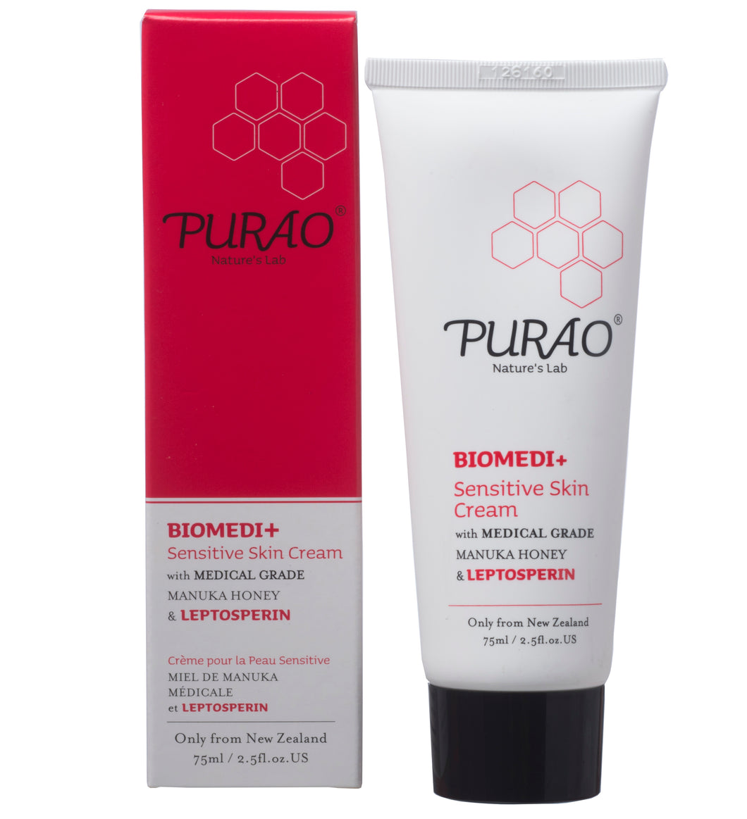 PURAO BIOMEDI+ Sensitive Skin Cream