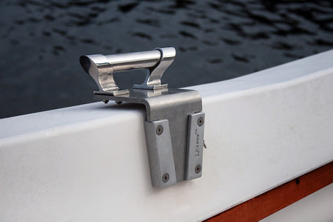 Use a V-Lock to secure a hand rail grip